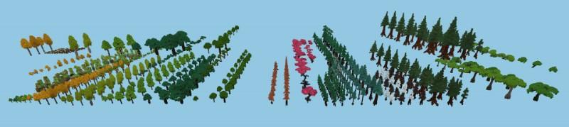 木・植物の一覧